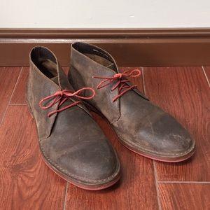 Men's Cole haan Sz 11 m brown suede chukka boots